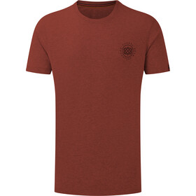 Sherpa Summit Tee Men, clay red